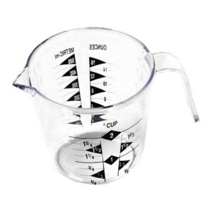 The Best Measuring Cups Option: Chef Craft 2-Cup Clear Measuring Cup