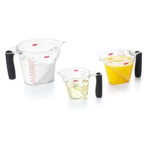 The Best Measuring Cups Option: OXO Good Grips 3-Piece Angled Measuring Cup Set