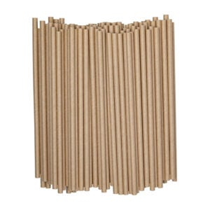The Best Paper Straws Option: Comfy Package Kraft Paper Drinking Straws