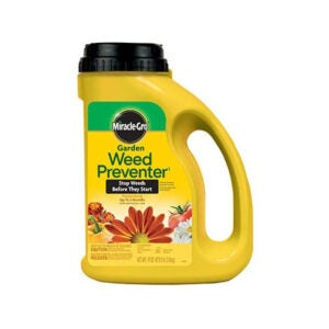 The Best Pre-Emergent Herbicide Option: Miracle-Gro Garden Weed Preventer