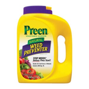 The Best Pre-Emergent Herbicide Option: Preen Natural Vegetable Garden Weed Preventer