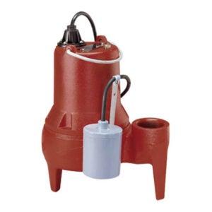 The Best Sewage Pump Option: Liberty Pumps LE51A LE50-Series Sewage Pump
