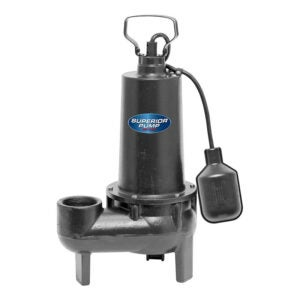 The Best Sewage Pump Option: Superior Pump 93501 HP Cast Iron Sewage Pump
