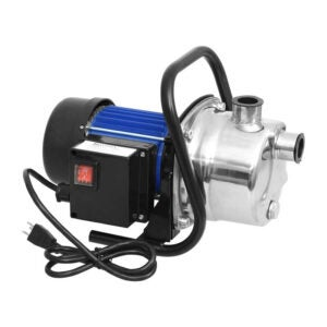 The Best Shallow Well Pump Option: Homdox 1.6HP Stainless Booster Pump