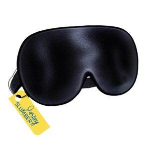The Best Sleeping Mask Option: Jersey Slumber 100% Silk Sleep Mask