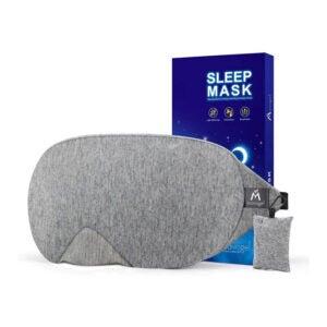 The Best Sleeping Mask Option: Mavogel Cotton Sleep Eye Mask