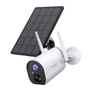 The Best Solar-Powered Security Camera Option: Outdoor Security Camera, Conico Wireless Solar