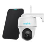 The Best Solar-Powered Security Camera Option: Reolink Argus PT w Solar Panel - Wireless Pan Tilt