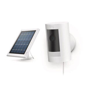 The Best Solar-Powered Security Camera Option: Ring Stick Up Cam Solar HD security camera