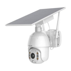 The Best Solar-Powered Security Camera Option: SOLIOM Home Security Camera Outdoor, Wireless WiFi
