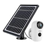 The Best Solar-Powered Security Camera Option: Security Camera Outdoor Wireless WiFi, ZUMIMALL