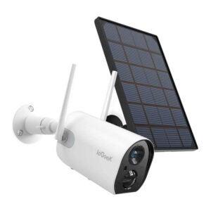 最佳太阳能安全摄像头选择:ieGeek无线户外安全摄像头,WiFi太阳能