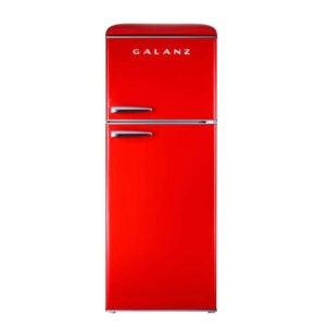 The Best Top Freezer Refrigerator Option: Galanz 10.0 cu. ft. Retro Top Freezer Refrigerator