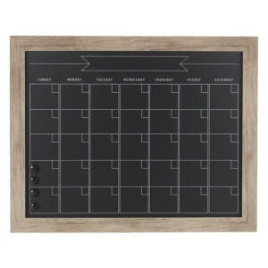 The Best Wall Calendar Option: DesignOvation Beatrice Framed Magnetic Chalkboard