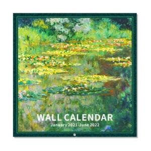 The Best Wall Calendar Option: Journaltastic 2021-2022 Wall Calendar - Art Paintings