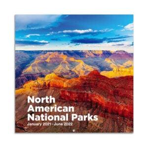 The Best Wall Calendar Option: Maalbok 2021-2022 Wall Calendar - National Parks