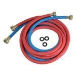 最佳洗衣机软管选项:Highcraft CNCT2564L软管连接器,适用于热和冷
