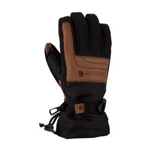 最好的防水手套选项:Carhartt Men的冷留纸绝缘工作手套