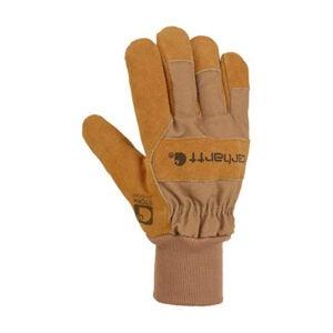 最佳防水手套选择:Carhartt男士Wb绒面革防水工作手套