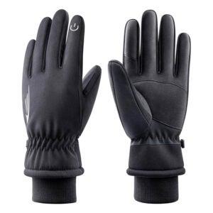 最佳防水手套选择:RIVMOUNT冬季手套男人女人