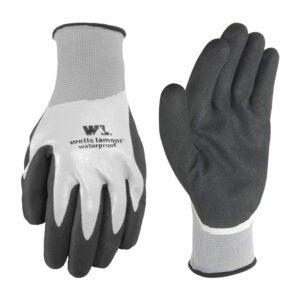 最好的防水手套选项:井Lamont防水工作手套乳胶