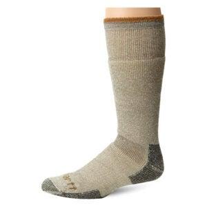 冬季最佳袜子选择:Carhartt男士北极重量级羊毛靴袜