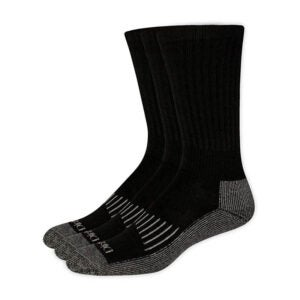 The Best Winter Socks Option: Dickie's Men's 3 Pack Heavyweight Cushion Compression