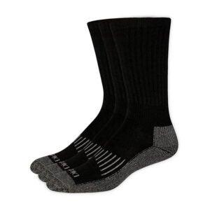 冬季最佳袜子选择:Dickie 's男士3包重量级压缩垫