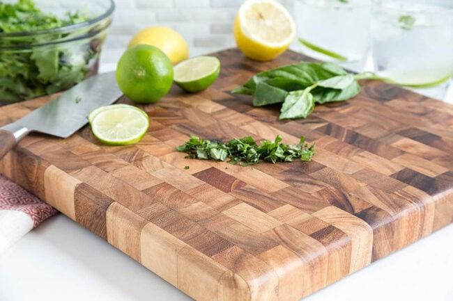 最好的木材切菜板选择