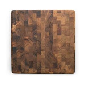 最好的木材切割板选择:铁木美食方端谷物厨师板