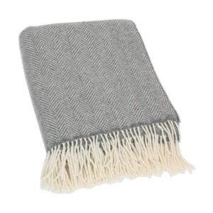 最好的羊毛毯选项:墨菲羊绒羊绒Merino羊毛混合物扔毯子