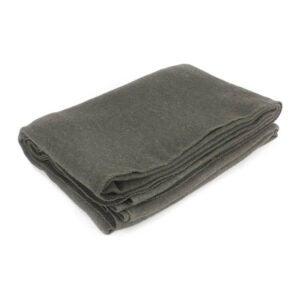 最好的羊毛毯选项:everone灰色羊毛阻燃毯
