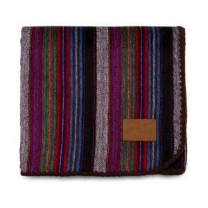 最好的羊毛毯选项:Qisu alpaca羊毛毯扔大