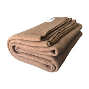 The Best Wool Blankets Option: Woolly Mammoth Woolen Co. Extra Large Merino Wool