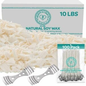 The Best Candle Wax Option: Hearts and Crafts Soy Wax and DIY Candle Making