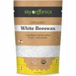 最好的蜡烛蜡选择:天空有机有机白色蜂蜡颗粒(1磅)
