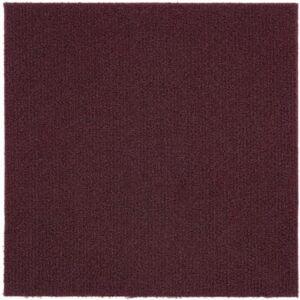 The Best Carpet Tile Option: Achim Home Furnishings Nexus Burgundy Carpet Tile