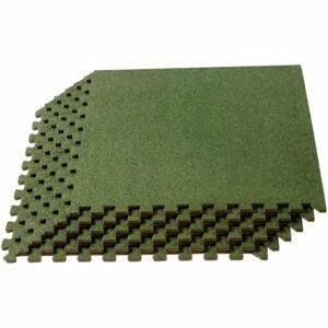 最好的地毯瓷砖选项:我们销售垫3/8英寸厚的互锁泡沫瓷砖