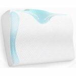 The Best Contour Pillow Option: BODESY Contour Memory Foam Bed Pillow