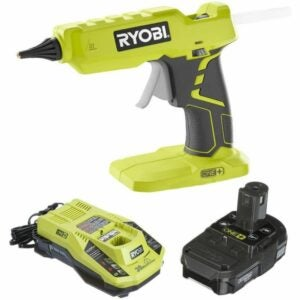 The Best Cordless Glue Gun Option: Ryobi Glue Gun P305 with Charger & Battery