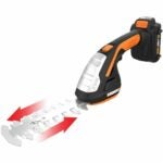 The Best Cordless Grass Shears Option: Worx WG801 20V Shear Shrubber Trimmer