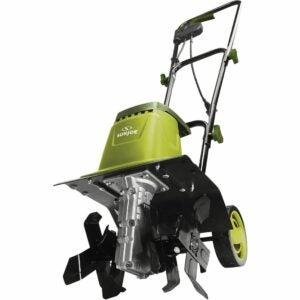 The Best Electric Tiller Option: Sun Joe TJ602E 12-Inch 8-Amp Electric Garden Tiller