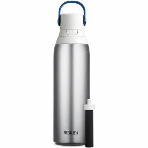 The Best Filter Water Bottle Option: Brita Stainless Steel 20 Ounce Water Filter Bottle