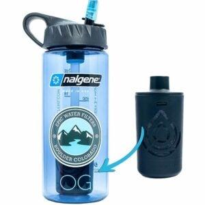 The Best Filter Water Bottle Option: Epic Nalgene OG Water Bottle with Filter