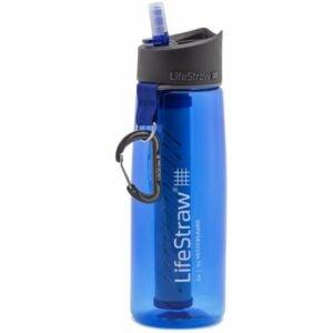 最好的过滤水瓶选项:LifeStraw Go 2级水过滤器瓶