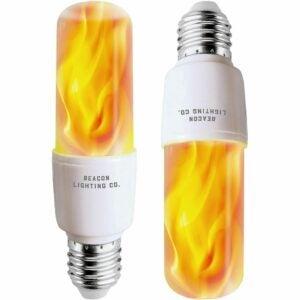 The Best Flame Light Bulb Option: HoogaLife LED Flame Effect Light Bulbs