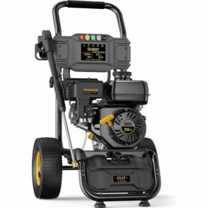 The Best Gas Pressure Washer Option: BLUBERY 3500 PSI Gas Pressure Washer