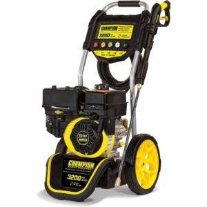 最佳气体压力清洗机选择:冠军3200-PSI 2.4-GPM dollly - style气体压力