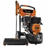 最佳气体压力清洗机选择:通用7122 SpeedWash, 3200 PSI,橙色