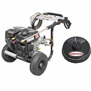 The Best Gas Pressure Washer Option: SIMPSON Cleaning MegaShot Gas Pressure Washer